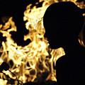 Roasting Marshmallows Over An Open Fire by Jill Reger