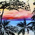 Roatan Sunset by Donna Walsh