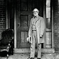 Robert E. Lee In Richmond, Virginia by Photo Researchers