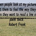 Robert Frank Quote by Tony Murtagh