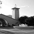 Robert Mondavi Napa Valley Winery . Black And White . 7d9029 by Wingsdomain Art and Photography