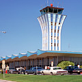 Robert Mueller Municipal Airport And Control Tower, Austin, Texas by Austin Welcome Center
