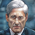 Robert Mueller Portrait , Head Of The Special Counsel Investigation by Argo
