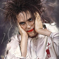 Robert Smith - The Cure by Melanie D