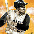 Roberto Clemente by Dave Olsen