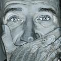 Robin Williams by Matthew Mezo