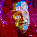 Robin Williams Paint Splatter by Brian Reaves