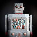Robot R-1 Square by Edward Fielding