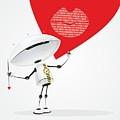 Robot Romantic by Sergey Ponkratov