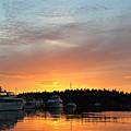 Roche Harbor Sunset by Steve Natale