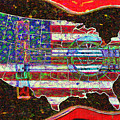 Rock And Roll America 20130123 Red by Wingsdomain Art and Photography