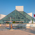 Rock And Roll Hall Of Fame I by Clarence Holmes