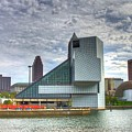 Rock And Roll Hall Of Fame by Robert Pearson