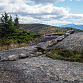 Rock Boundaries On Casecade Mountain Keene Ny New York by Toby McGuire