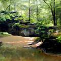 Rock Bridge Red River Gorge by Sam Davis Johnson