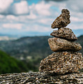 Rock Cairn Trail Marker  by Alexandre Rotenberg