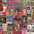 Rock Concert Posters Collage 1 by Doug Siegel