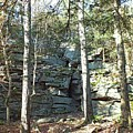 Rock Formation 3 - Ricketts Glen by Cindy Treger