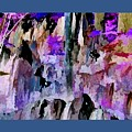 Rock Formation Abstract by John Feiser