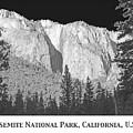 Rock Formation Yosemite National Park California by A Gurmankin