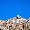 Rock Formations And Blue Sky by Bill Brennan - Printscapes