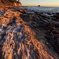Rock Formations At Corona Del Mar by Cliff Wassmann