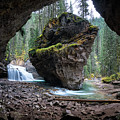Rock In Johnston Canyon by James Udall
