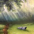 Rock In Sunlight by Paul Anderson