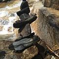 Rock Monument At Jones Gap Falls II by Kelly Hazel