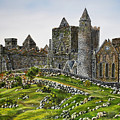 Rock Of Cashel Ireland by Avril Brand