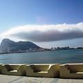 Rock Of Gibraltar Cloud II Uk Territory by John Shiron