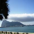Rock Of Gibraltar Clouds Uk Territory by John Shiron