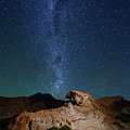 Rock Sculptures And The Milky Way In Southwest Bolivia by James Brunker