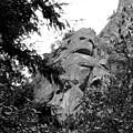 Rock Spirits At Yosemite B And W by Joyce Dickens