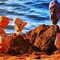 Rock Stacking by Dorlea Ho