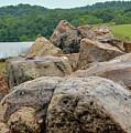 Rock Wall by Diane Friend