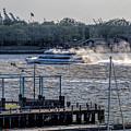 Seastreak Ferry by S Paul Sahm