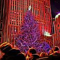 Rockefeller Center Christmas Tree by Allen Beatty