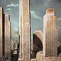 Rockefeller Center by Granger