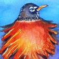 Rockin Robin by Patricia Piffath