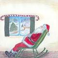 Rockin Santa by Jennifer Skalecke