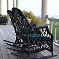 Rocking Chairs On The Porch by Catherine Sherman