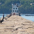 Rockland Breakwater Light by Chandra Wesson