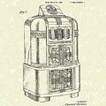 Rockola Phonograph Cabinet 1940 Patent Art by Prior Art Design