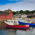 Rockport Harbor 2 by Emmanuel Panagiotakis