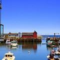 Rockport Harbor by John Kenealy