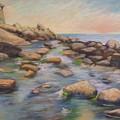 Rockport Harbour by Leslie Alfred McGrath