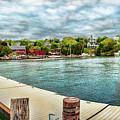 Rockport Inner Harbor by Daniel Hebard