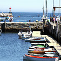 Rockport Ma Inner Harbor by James Hoolsema