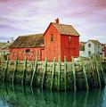 Rockport, Motif No. 1, Fishing Shack by Jane Fiala